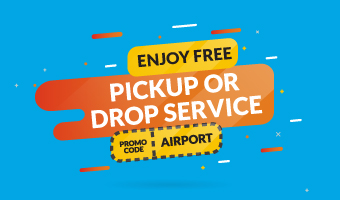 FREE AIRPORT PICK UP OR DROP