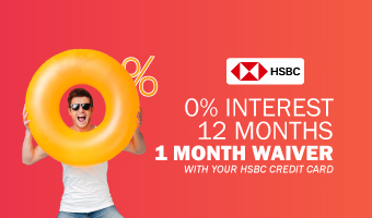 1 MONTH WAIVER WITH HSBC