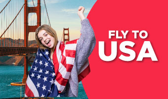 Fly to USA