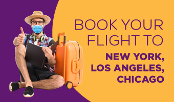 Book your flight to USA