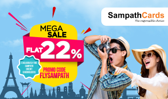 MEGA SALE WITH SAMPATH CARDS