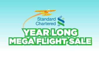 YEAR LONG MEGA FLIGHT SALE