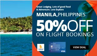 50% Off on Flights to Manila, Philippines!