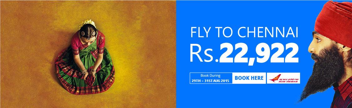 Air India Chennai Weekend Sale