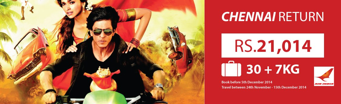 Air India Flight to Chennai