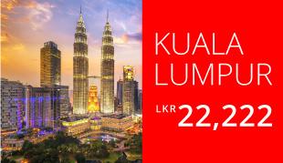 Kuala Lumpur LKR 22,222 | UL Airlines