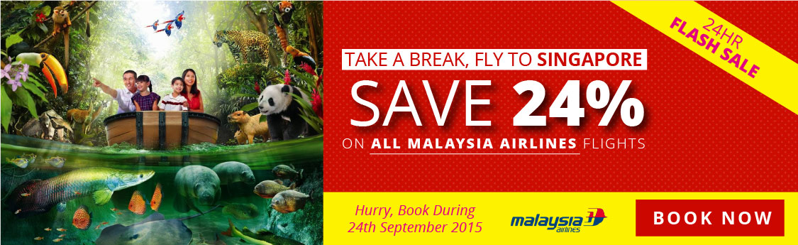 Flashsale Singapore Malaysia airlines