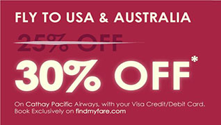 Flat 30% OFF to Aussie and USA!