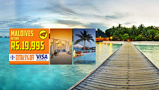 Fly to Maldives for just Rs.19,995/-!
