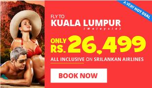 Hot Sale to Kuala Lumpur on SriLankan Airlines!