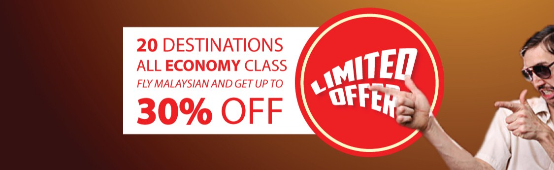 Malaysia Airlines Offer
