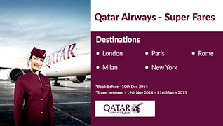 Qatar Airways Super Fare