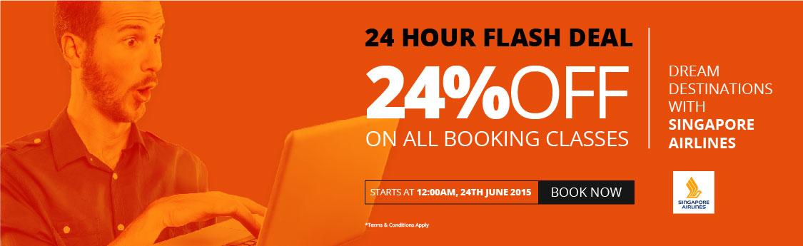 Singapore Airlines Flash Sale