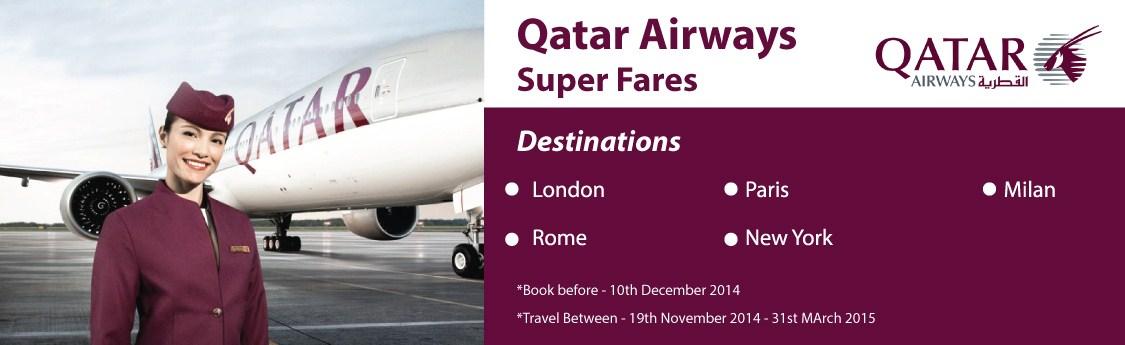 promotion Findmyfare Qatar Airways