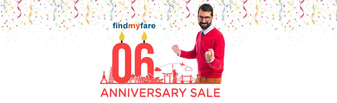 Findmyfare | Airline Anniversary Sale