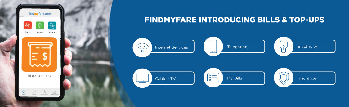 Findmyfare | Bills and TOP-UPS
