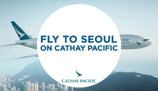 Fly with Cathay Pacific