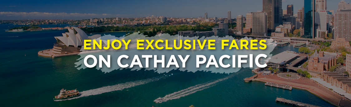 Findmyfare | Cathay Pacific