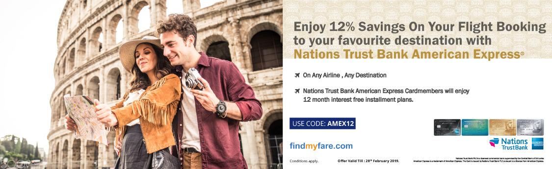 Findmyfare | NTB Amex
