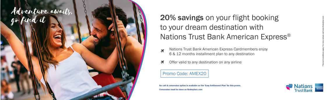 Findmyfare | Nations Trust Bank American Express