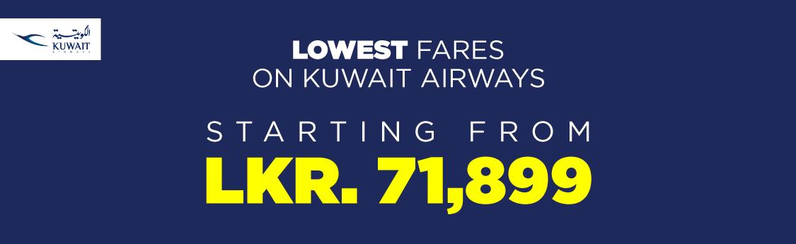 Findmyfare.com | Kuwait Airways