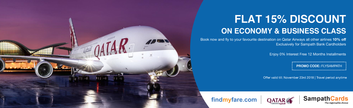 Findmyfare.com | Sampath Bank
