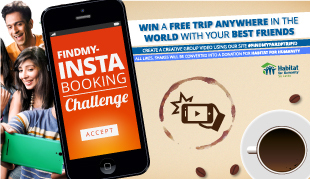 Win a free trip anywhere in the world!