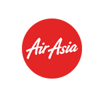 Flywith Airasia Airline - logo - with Findmyfare