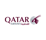 Flywith Qatar Airline-logo-with Findmyfare