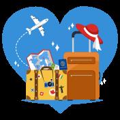 Icon Love Travel with Findmyfare