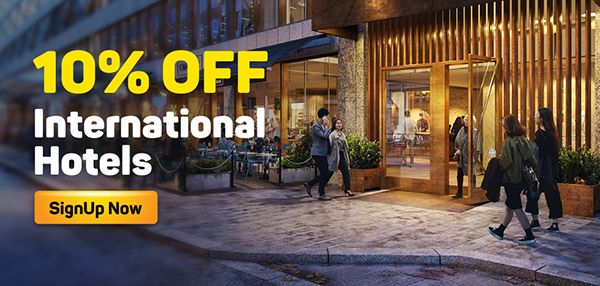 10% OFF International Hotels